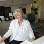 Terrie Campbell, Receptionist