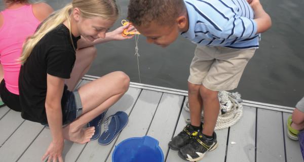 Crabbing at the Dock