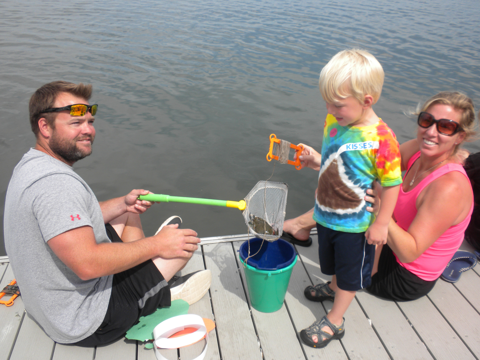 Crabbing at the Dock